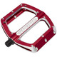 Spank Spoon Flat Pedals L red